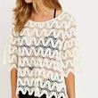 Pins & Needles Textures Flute Top - Urban Outfitters