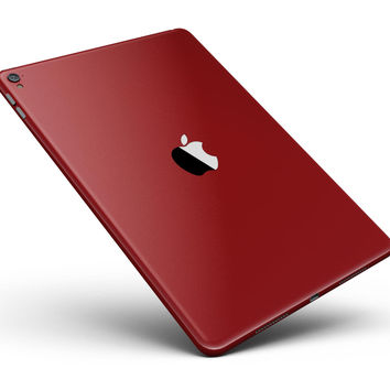 """Solid Dark Red Full Body Skin for the iPad Pro (12.9"""" or 9.7"""" available)"""