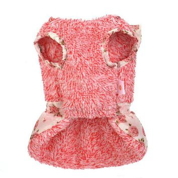 ONETOW dog clothes for small dogs girl dresses dogs pets clothing winter dog clothes chihuahua