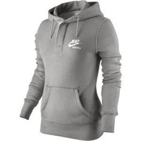 Nike AW77 Gym Buttoned Women's Hoodie - Polyvore