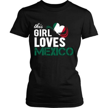 This girl loves Mexico