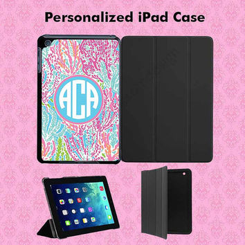 iPad Case iPad Mini Case iPad Air Case Monogram iPad Case Monogram iPad Mini Case Monogram iPad Air Case - Lilly Pulitzer Inspired Case