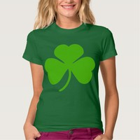 St. Paddy's Day Lucky Shamrock T-shirts