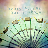 every summer has a story Art Print by Sylvia Cook Photography | Society6