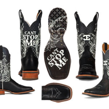 Ladies Can't Stop Me Cinch Edge Boots