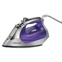 Black & Decker Stainless Steel Perfect Point Steam Iron