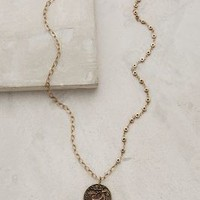 Caribou Pendant Necklace by Anthropologie in Gold Size: One Size Necklaces