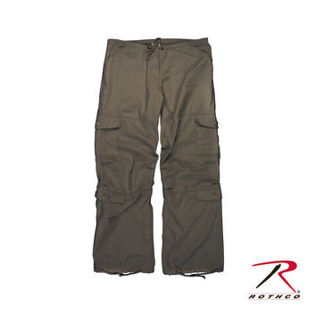 Womens Vintage Paratrooper Fatigue Pant