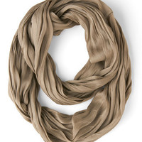 Brighten Up Circle Scarf in Taupe | Mod Retro Vintage Scarves | ModCloth.com