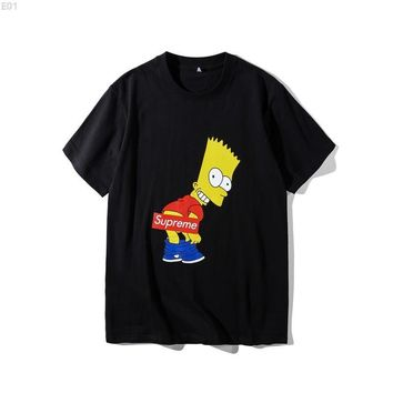 AUGUAU Supreme X Simpsons #001 T-Shirt