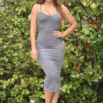 Apache Spark Dress - Grey