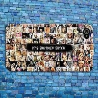 Funny Britney Spears Collage Cute Music Phone Case iPhone iPod Cool Fun Cover