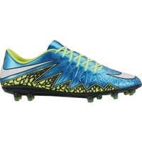 Nike Women's HyperVenom Phinish FG Soccer Cleats - Blue/Volt | DICK'S Sporting Goods