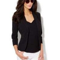 7th Avenue Suiting Collection 3/4-Sleeve Jacket - New York & Company