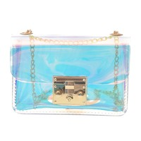 Mini Clear Bag Transparent Shoulder Bag PVC