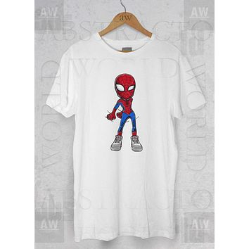 Flossing Air Jordan 3 True Blue OG Spidey Adult Unisex T Shirt