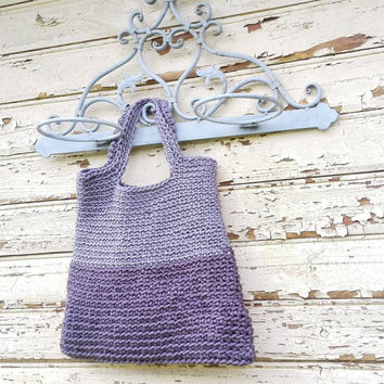 Knitted Bags/ Rope Bags/ Handmade Bags/ Chrochet Bags/ Tote/ Bolso/ Gray Bags/ Summer Handbags