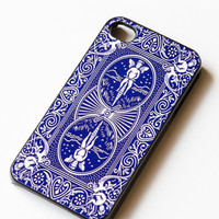 iPhone Case Playing Card , iphone 5 case , iPhone 4s Case , iPhone 4 Case , Bicycle Playing Card Back , hard case