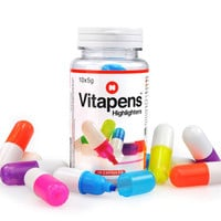 Mustard Vitapens 10 Pack Highlighters Multi One Size For Women 26499095701