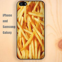 dream French fries iphone 6 6 plus iPhone 5 5S 5C case Samsung S3, S4,S5 case, Ipod touch Silicone Rubber Case Phone cover Waterproof