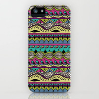 Hippie Chick III iPhone Case by Jenndalyn | Society6