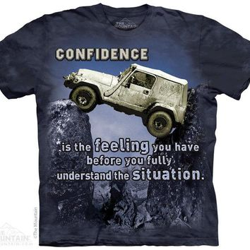New JEEP OUTDOOR CONFIDENCE T SHIRT