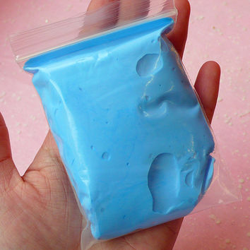 Super Light Weight Modeling Air Dry Clay 20g (LIGHT BLUE) Soft Like Squishy After Dry C15