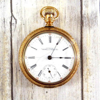 Antique 1897 Pocket Watch by Waltham