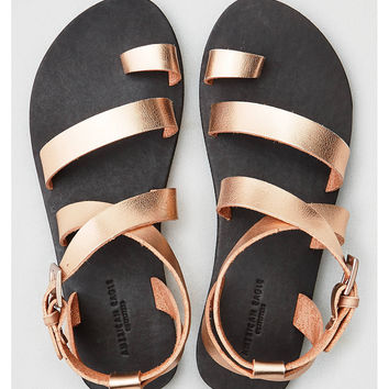 AEO Toe Ring Sandal, Gold