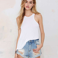 Asymmetric Sleeveless Tank