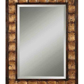 Justus Decorative Gold Mirror - Uttermost