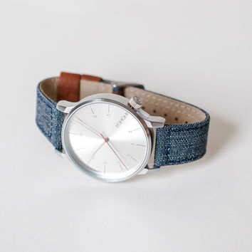 Komono Winston Heritage Series Watch Chambray