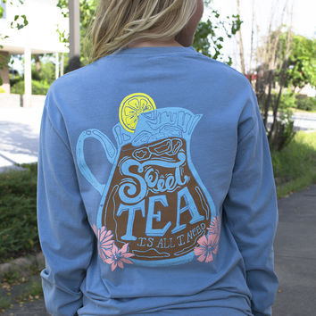 Sweet Tea Geneologie Long Sleeve Tee