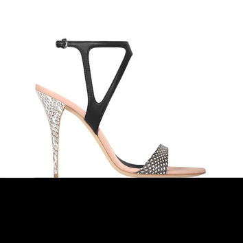 Narciso Rodriguez Carolyn Sandal - Natural/black