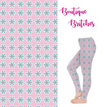 Flowers Oh So Pretty Leggings