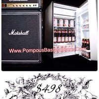 Rock ~n~ Roll Amplifier Fridge