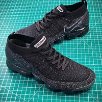 Nike Air Vapormax 2.0 Black Sport Running Shoes - Best Online Sale