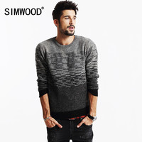 New winter sweater men 66% wool  fashion pullovers slim fit O-neck pull clothing