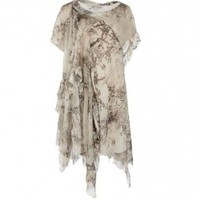 Skull De Jouy Thoas Dress