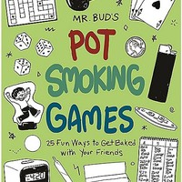 Mr. Bud's Pot Smoking Games Book - Spencer's