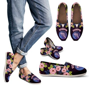 Scorpio Vibes Casual Shoes