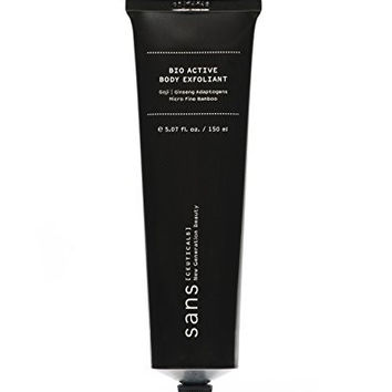 Sans Ceuticals - All Natural Bamboo Bio Active Body Exfoliator