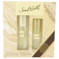 SAND & SABLE by Coty Gift Set -- 2 oz Cologne Spray + 1 oz Cologne Spray (Women)