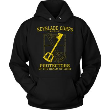 Kingdom Heart - Keyblade corps protectors of the realm of light -Unisex Hoodie  - TL01386HO