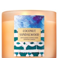 3-Wick Candle Coconut Sandalwood