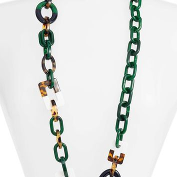 Tory Burch Resin Necklace | Nordstrom