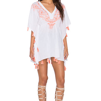 Z&L Embroidered Tunic in Pink