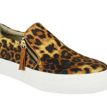 Not Rated Tim Leopard Fashion Sneakers