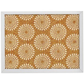 WallPops!® Catalina Framed Printed Cork Board in White