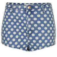 MOTO High Waisted Spot Hotpant - New In This Week  - New In